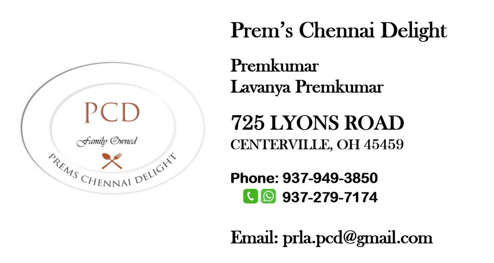 Prem's Chennai Delight